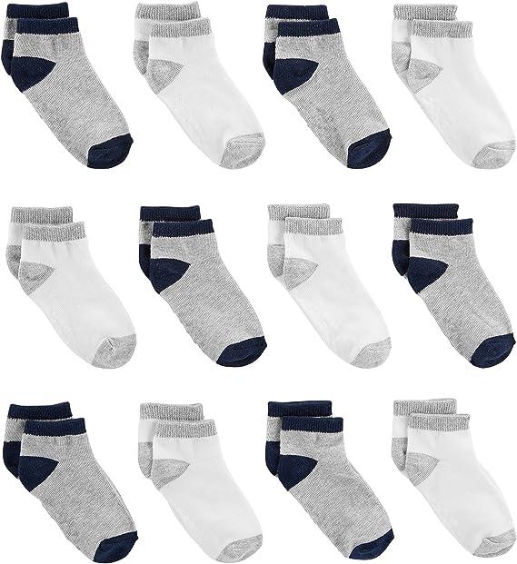 Simple Joys by Carters Baby and Toddler Lot de 12 paires de chaussettes pour gar/çon