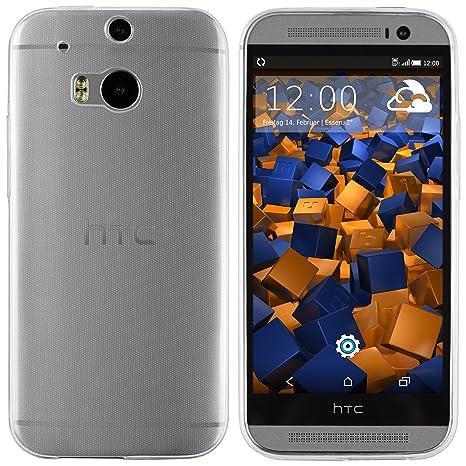 Mumbi Ultraslim móvil para HTC One M8/M8S Carcasa Transparente (Ultra Slim – 0.55 mm)