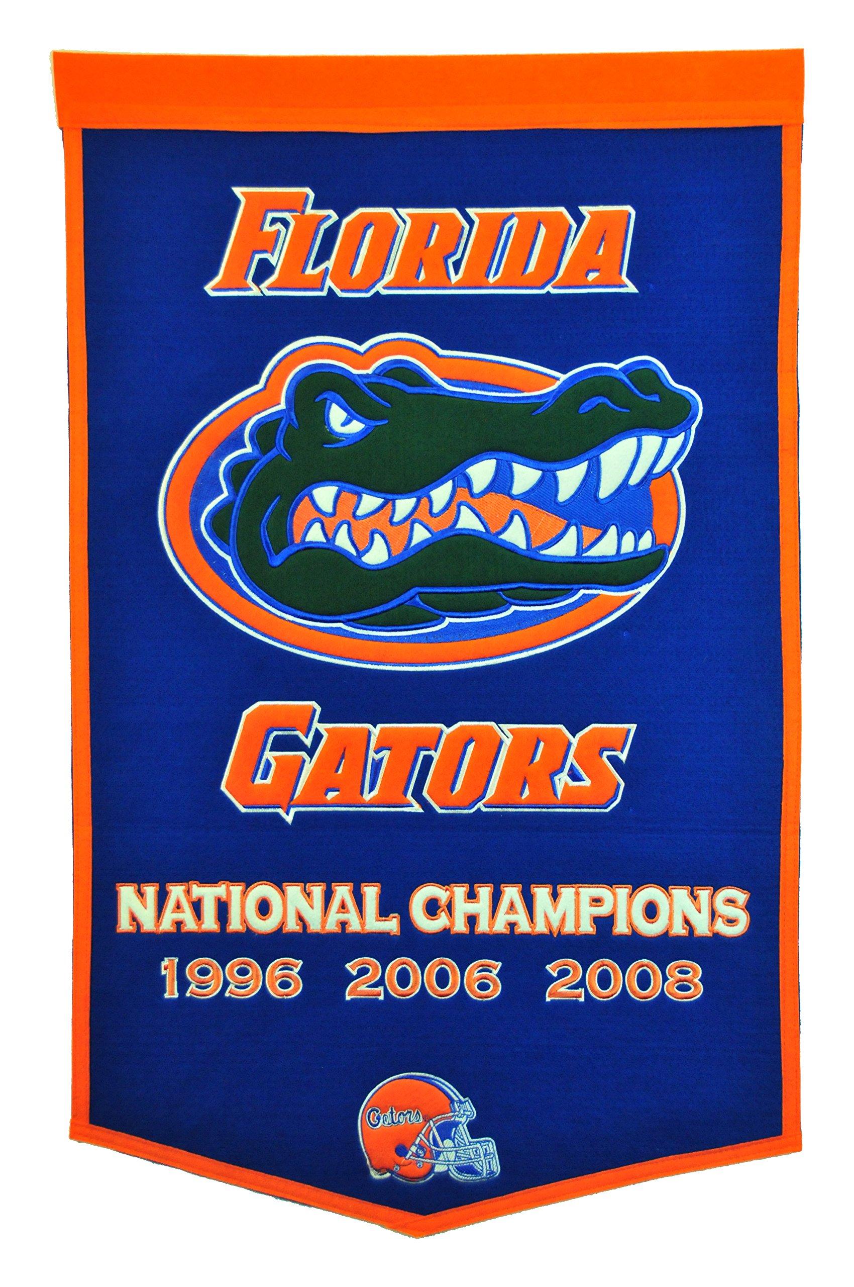 Winning Streak NCAA Florida Gators Dynasty Banner by Winning Streak