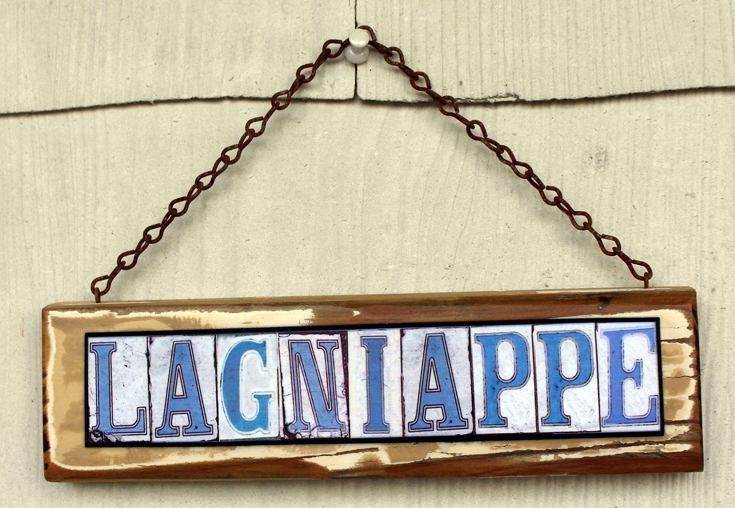 Lagniappe New Orleans Street Tile Sign