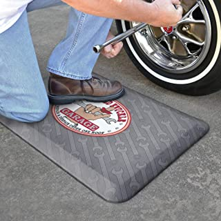 """product image for GelPro Designer floor-comfort-mats, 20""""x32"""", Grey Repeating Wrench"""