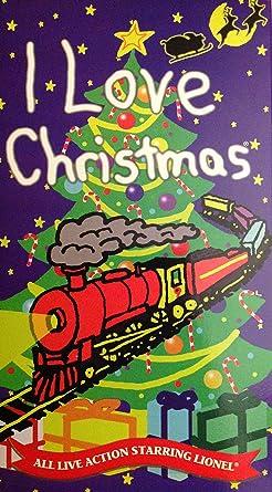 Amazon Com I Love Christmas Vhs Raymond Allen Ii Gerry