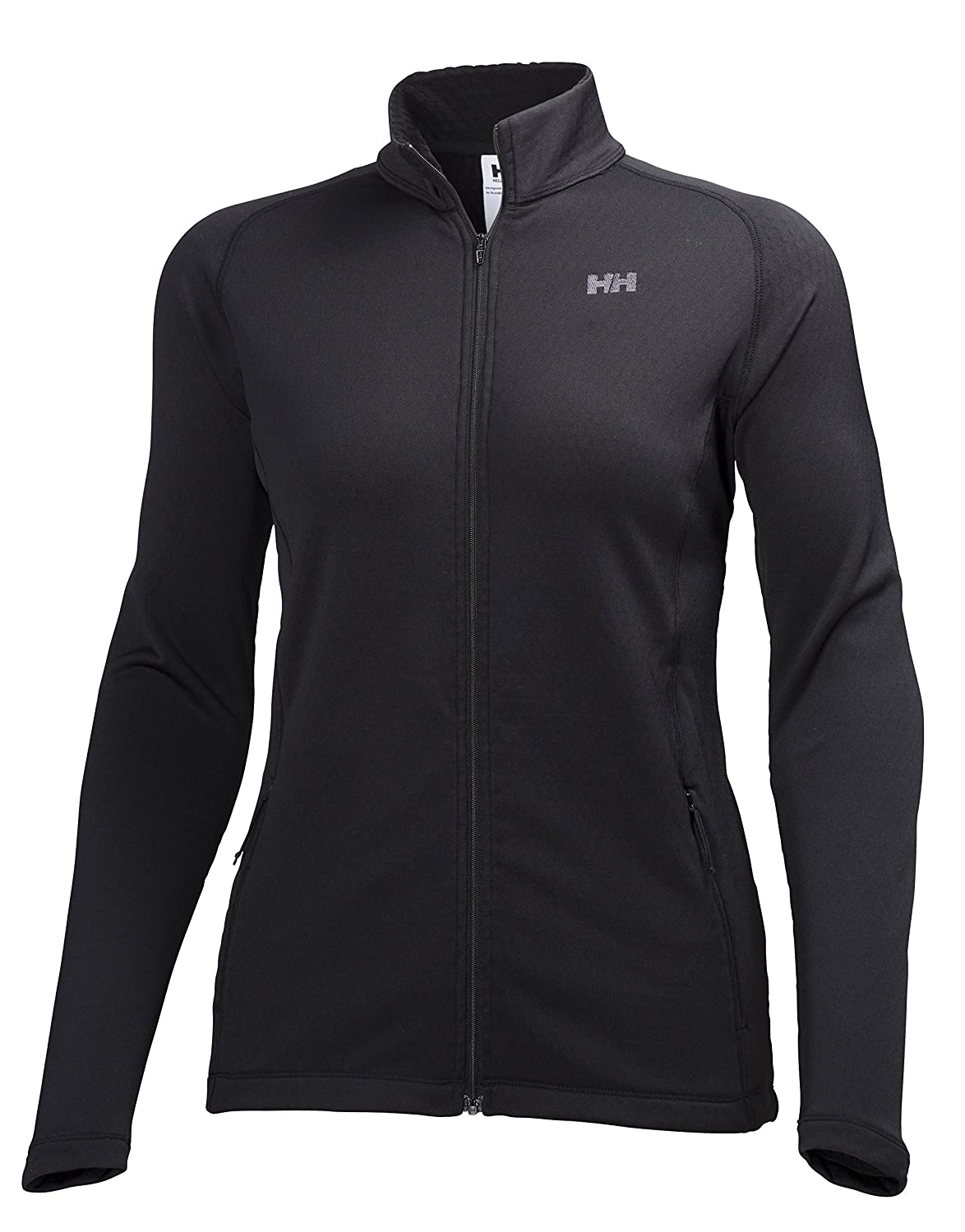 Helly Hansen Damen Fleecejacke W Grünrex Fullzip Stretch Midlayer