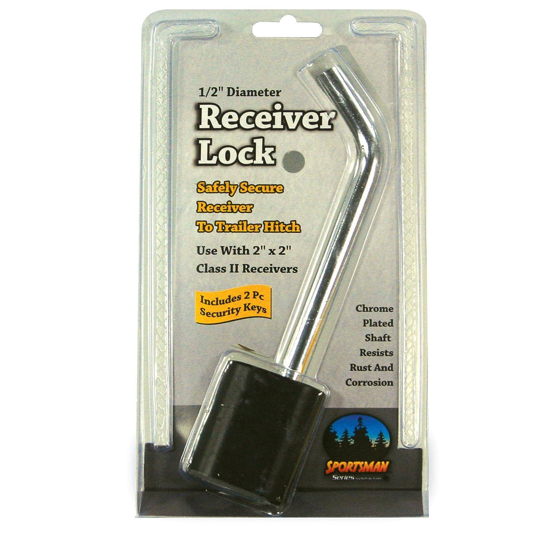 Sportsman Series RLOCK12 Chrome 1//2 Diameter Receiver Lock