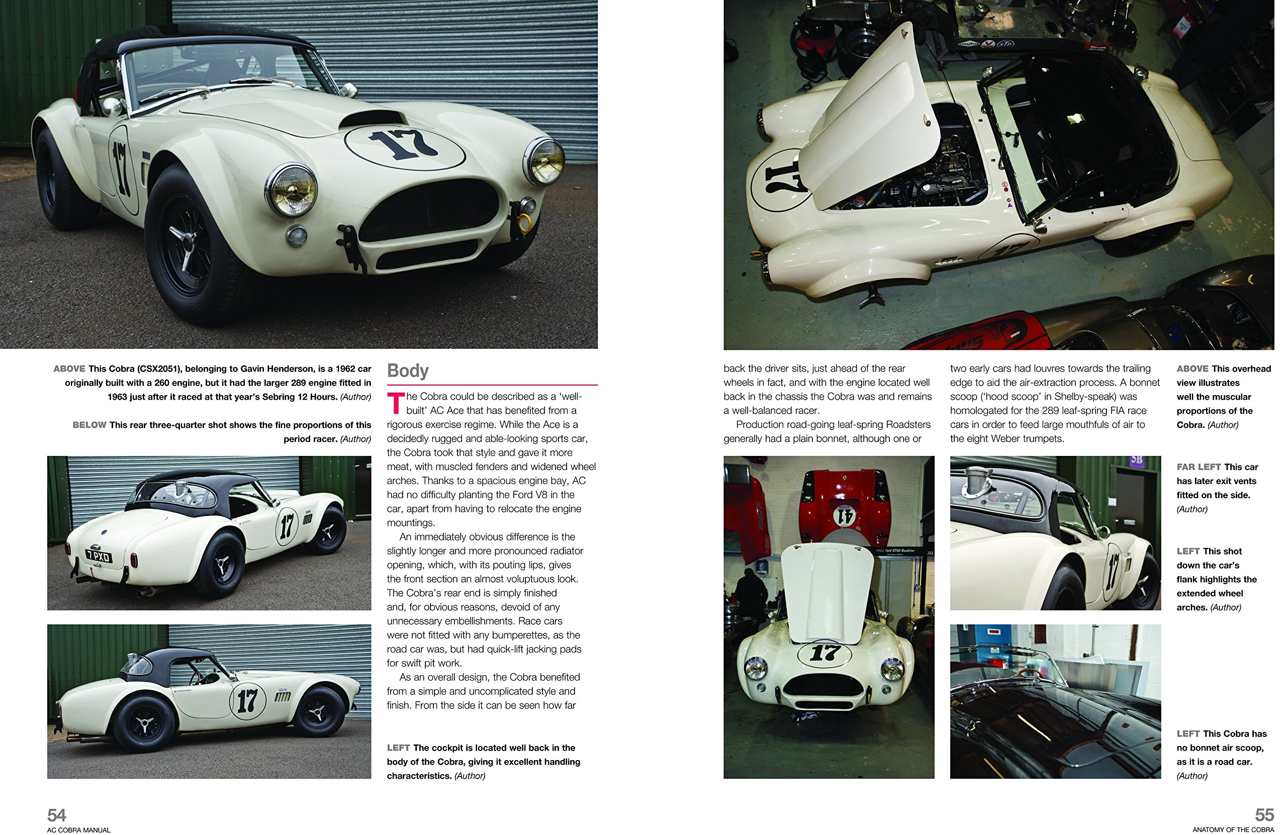 AC/Shelby Cobra: 1962 to 1968 (all models) (Owners' Workshop Manual): Glen  Smale: 9780857337863: Amazon.com: Books