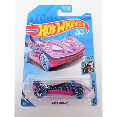 Hot Wheels 2020 50th Anniversary Super Stinger (Stingray Car) 90/365, Purple and Pink: Toys & Games