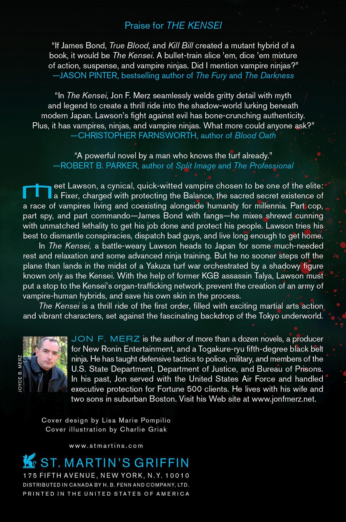 The Kensei: A Lawson Vampire Novel: Amazon.es: Jon F. Merz ...