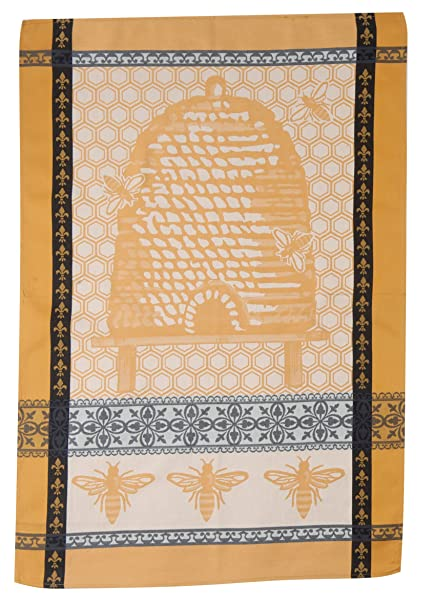 Charmant Kay Dee Designs Cotton Jacquard Tea Towel, 18 By 28 Inch, Queen Bee