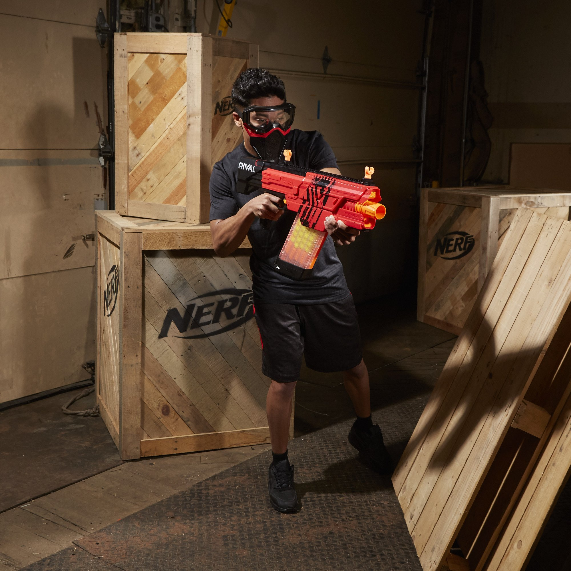 Nerf Rival Khaos MXVI-4000 Blaster (Red) by NERF (Image #9)