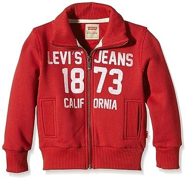 54410a656ad9 Levi s Kids Jungen Sweatshirt Zipper Nos Zino  Amazon.de  Bekleidung