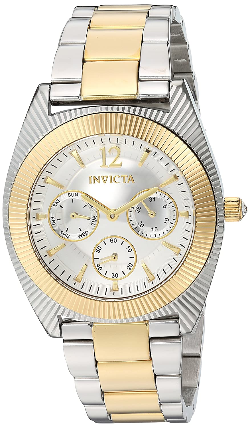 Invicta Women s Angel Quartz Watch with Stainless-Steel Strap, Two Tone, 21 Model 23752