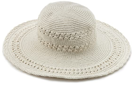 bf3020ff San Diego Hat Company Women's Cotton Crochet Hat, Natural, One Size at  Amazon Women's Clothing store: Sun Hats
