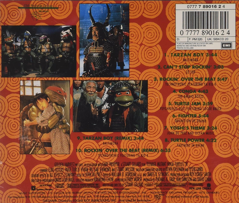 Ost: Teenage Mutant Ninja Turtles III: Amazon.es: Música