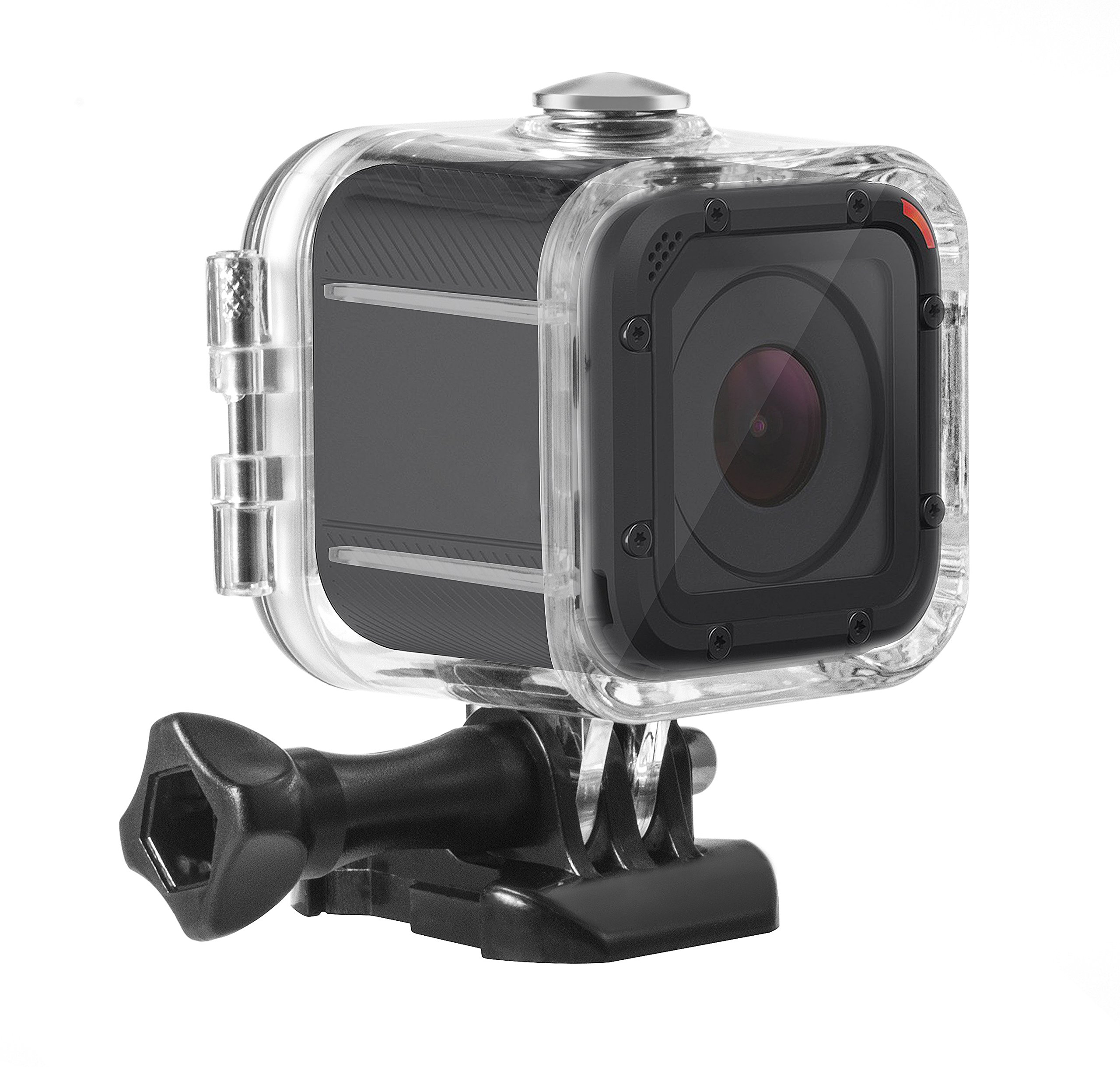 Kupton Housing Case for GoPro Hero 5 Session Waterproof Case Diving Protective Housing Shell 45m with Bracket Accessories for Go Pro Hero5 Session & Hero Session