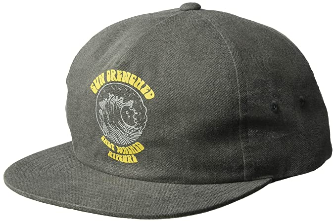58a80bdf Amazon.com: Rip Curl Men's Salt Washed Snapback, Charcoal 1SZ: Clothing