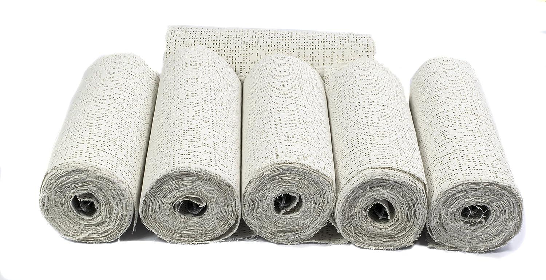 Confezione da 6 Gesso Mouldmaster Craftrock 80 x 30 x 15 cm Colore: Bianco