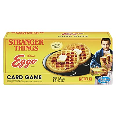 Stranger Things Eggo Card Game: Hasbro: Toys & Games