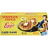 Hasbro Games Stranger Things Eggo Card Game Board