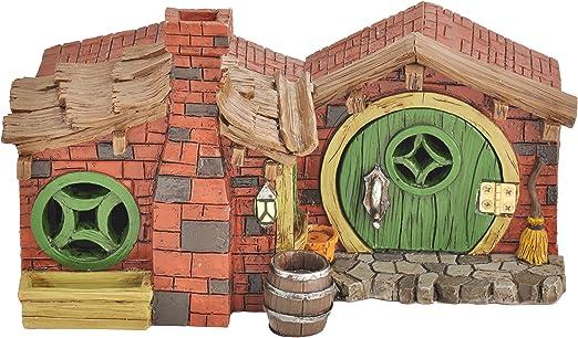 Georgetown casa y jardín miniatura el ladrillo casa jardín decoración: Amazon.es: Jardín