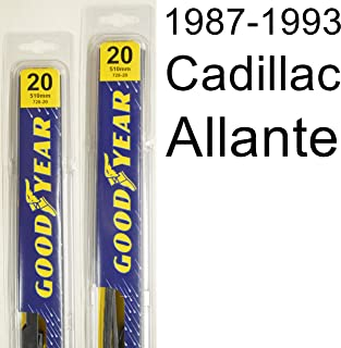 "product image for Cadillac Allante (1987-1993) Wiper Blade Kit - Set Includes 20"" (Driver Side), 20"" (Passenger Side) (2 Blades Total)"