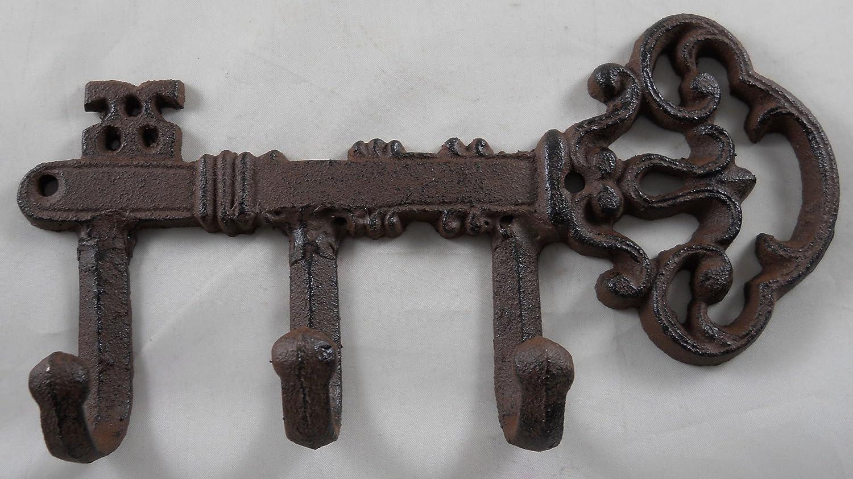 Iron Skeleton Key with Hooks Upper Deck
