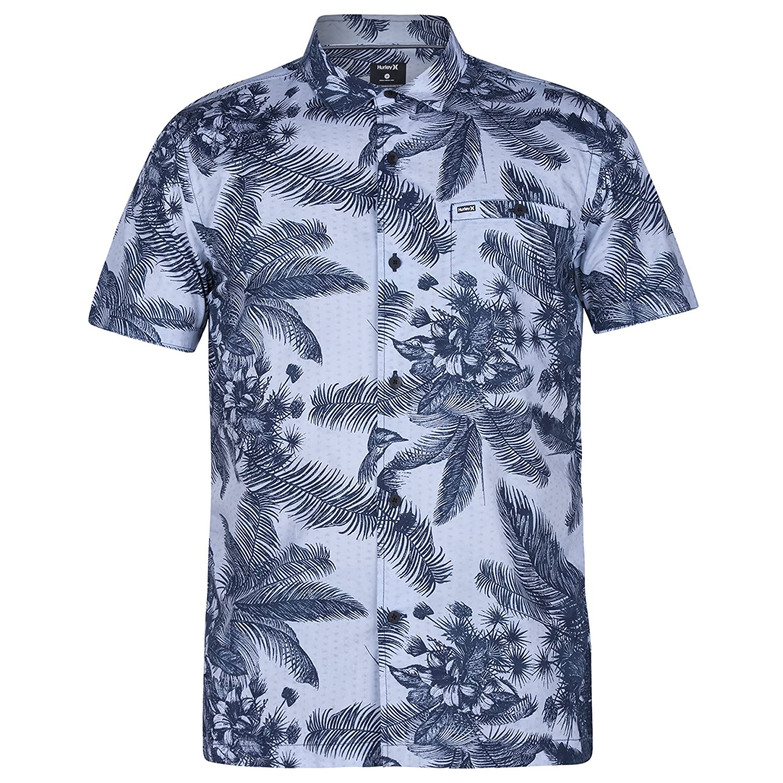 WANSHIYISHE Men Denim Plus Size Long Sleeve Loose Fit Casual Button Down Shirts
