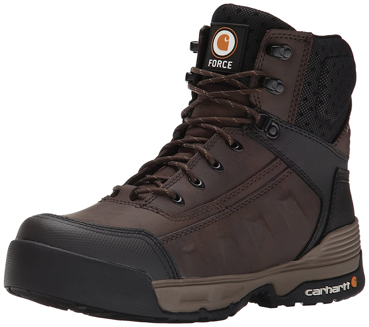 Carhartt メンズ Brown Coated Leather 8.5 D(M) US 8.5 D(M) USBrown Coated Leather B00OBX15G0
