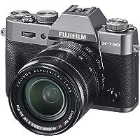 Fujifilm X-T30 Mirrorless Digital Camera, Charcoal Silver with Fujinon XF18-55mm F2.8-4 R LM Optical Image Stabiliser Lens kit