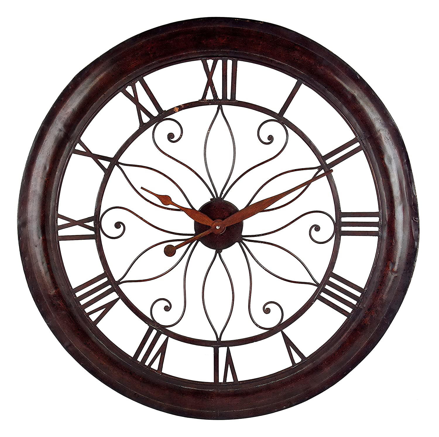vibrant idea 30 inch clock. Amazon com  IMAX 1003 Oversized Wall Clock Open Back Round Analogue for Hotel Living Room Dining Modern Clocks Home