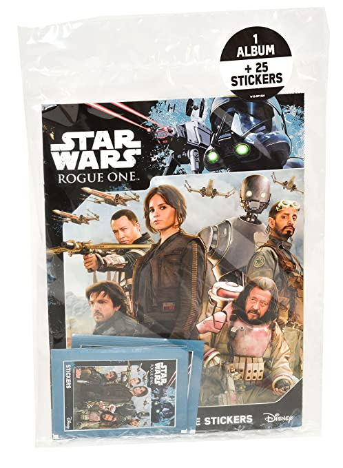 Topps - SW36 - Star Wars Rogue One - Álbum + Pegatinas ...