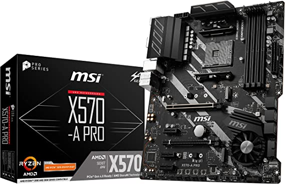 MSI X570-A PRO Motherboard (AMD AM4