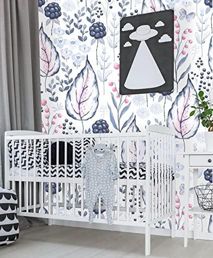 Removable Wallpaper Mural Peel Stick Nursery Wallpaper