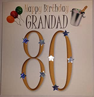 80th Birthday Card Male Titles Brother In Law Uncle Dad Brother