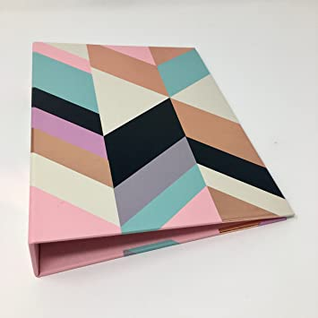 Amazon Ring Binder Multi colored Greenroom Rose Gold