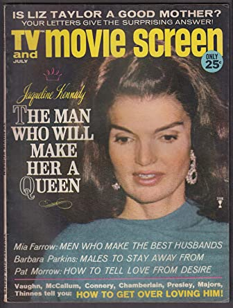 TV & MOVIE SCREEN Jackie Kennedy Liz Taylor Mia Farrow David