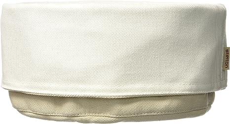 Stelton 1323 Bolsa de pan, arena / blanco, algodón, blanco, 23 x ...