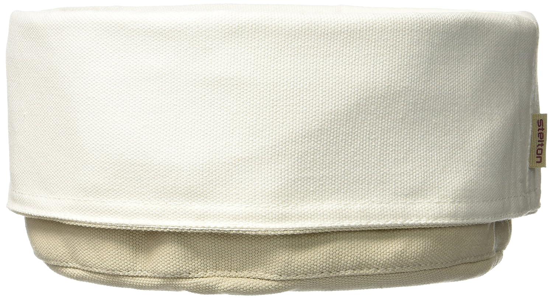 Baumwolle 23 X 37 X 3.7 cm White Stelton 1323 Brottasche Sand//Weiss