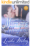 Mistletoe Mayhem: Historical Western Cowboy Romance Novel (Dawson Chronicles Book 1)