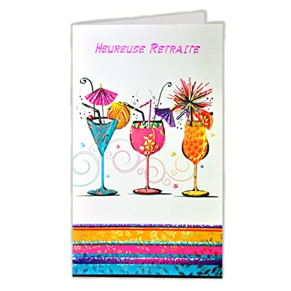 afie 15 - 6302 tarjeta despedida Feliz jubilación - Bebida ...