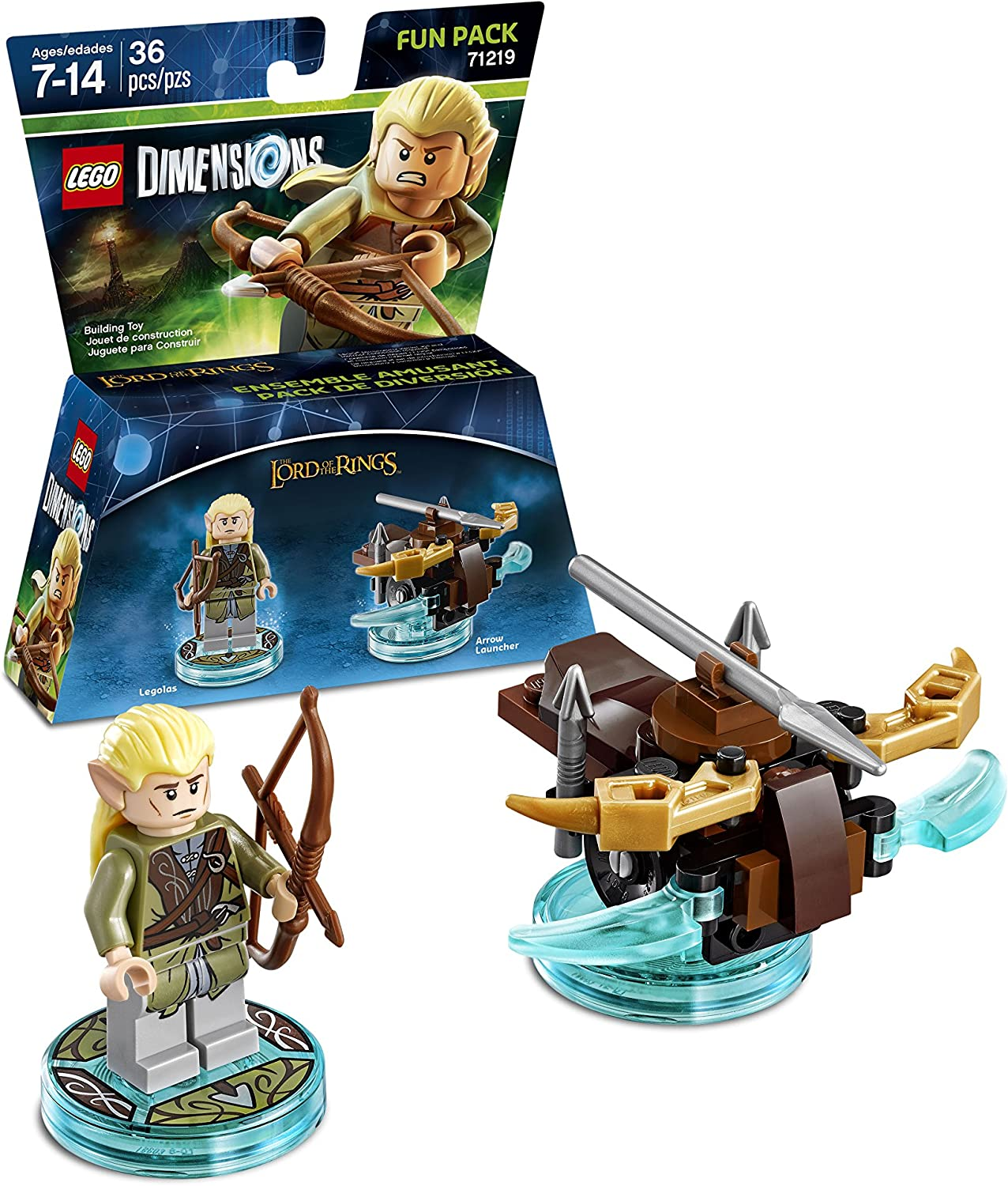 Lord Of The Rings Legolas Fun Pack - LEGO Dimensions by Warner ...