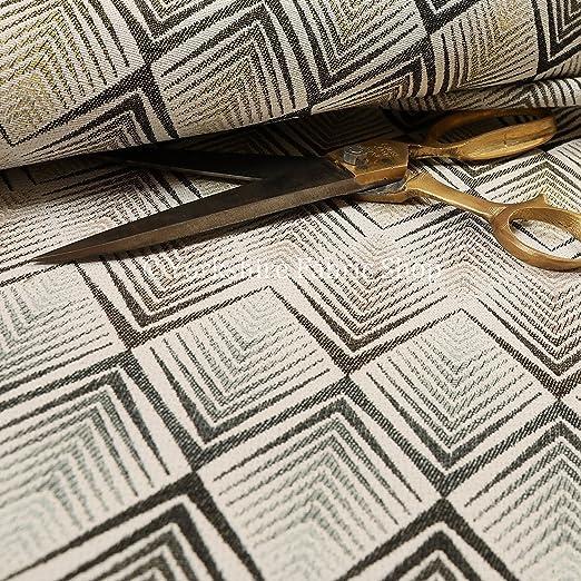 Nuevo moderno tejido patrón de Chevron en color amarillo y ...