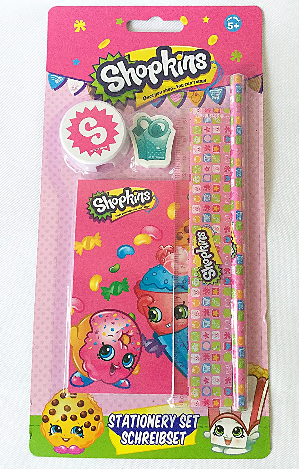 Shopkins Stationery Set: Amazon.de: Bürobedarf & Schreibwaren