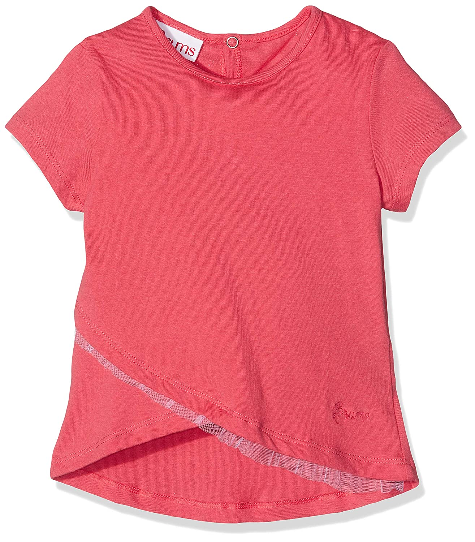 Brums Baby-M/ädchen T-Shirt Jersey Con Rouches Tulle Kapuzenpullover