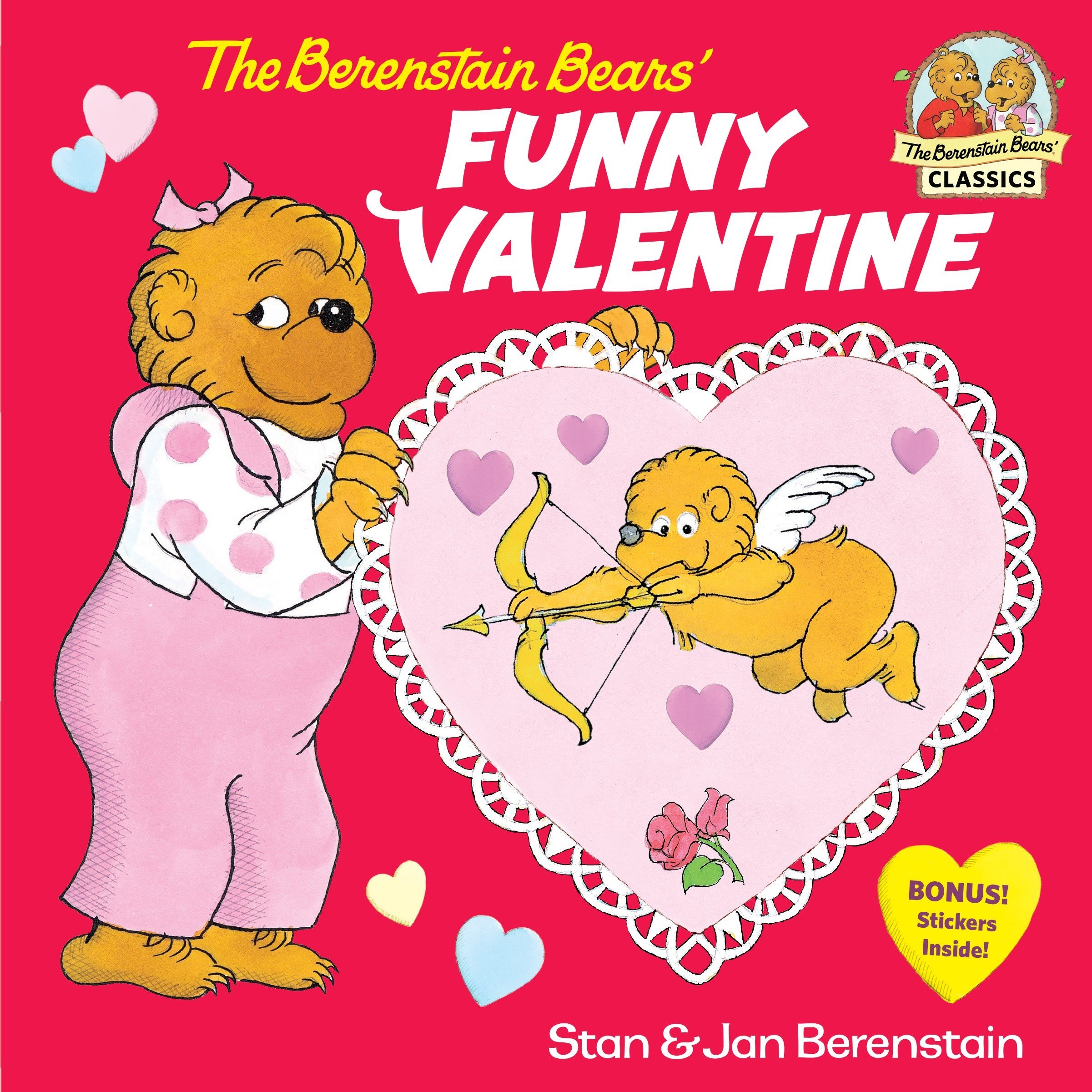 the berenstain bears funny valentine stan berenstain jan