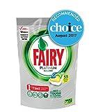 Fairy Platinum All In One Dishwasher Tablets, Lemon, 55 Pack