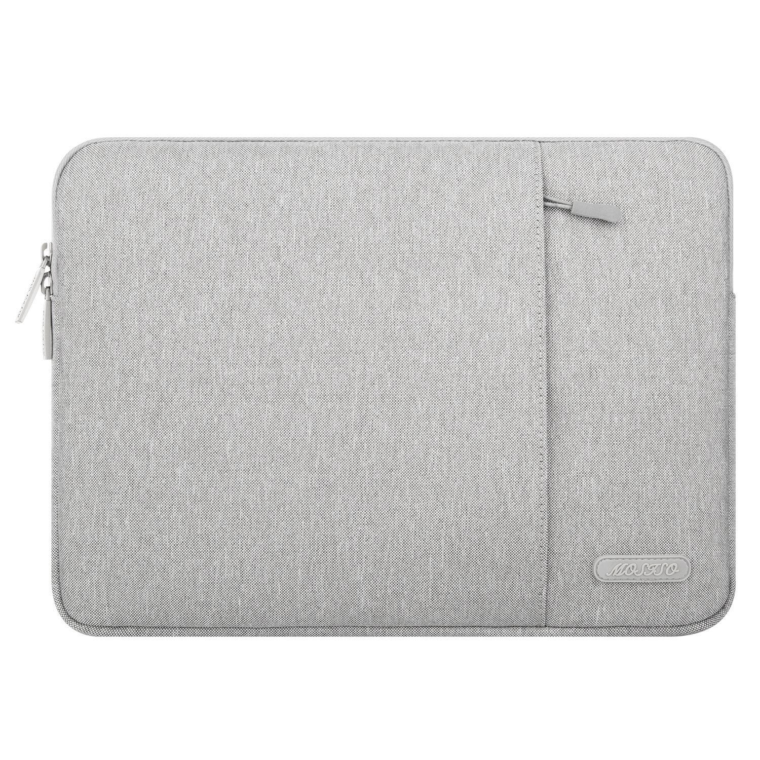 MOSISO iPad Air 3 10.5 2019 Sleeve Case, Compatible with 9.7-11 Inch iPad Pro, Surface Go 2018, iPad Air 2/Air(iPad 6/5), iPad 1/2/3/4 Water Repellent Polyester Vertical Pocket Tablet Bag, Gray by MOSISO