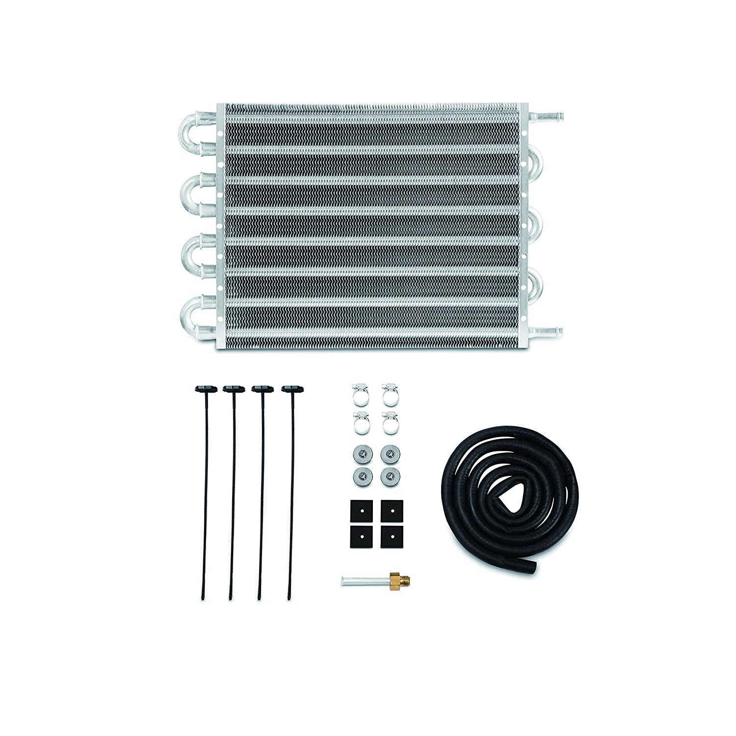 Mishimoto Silver 15 Inch x 7.5 Inch x 0.75 Inch MMTC-TF-1575 Universal Transmission Fluid Cooler, 15' x 7.5' x 0.75' 15 x 7.5 x 0.75