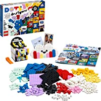 LEGO 41938 DOTS Creative Designer Box, Lots of Extra DOTS, with Pencil Holder, Desk Organiser, Picture Frame & Door Sign…
