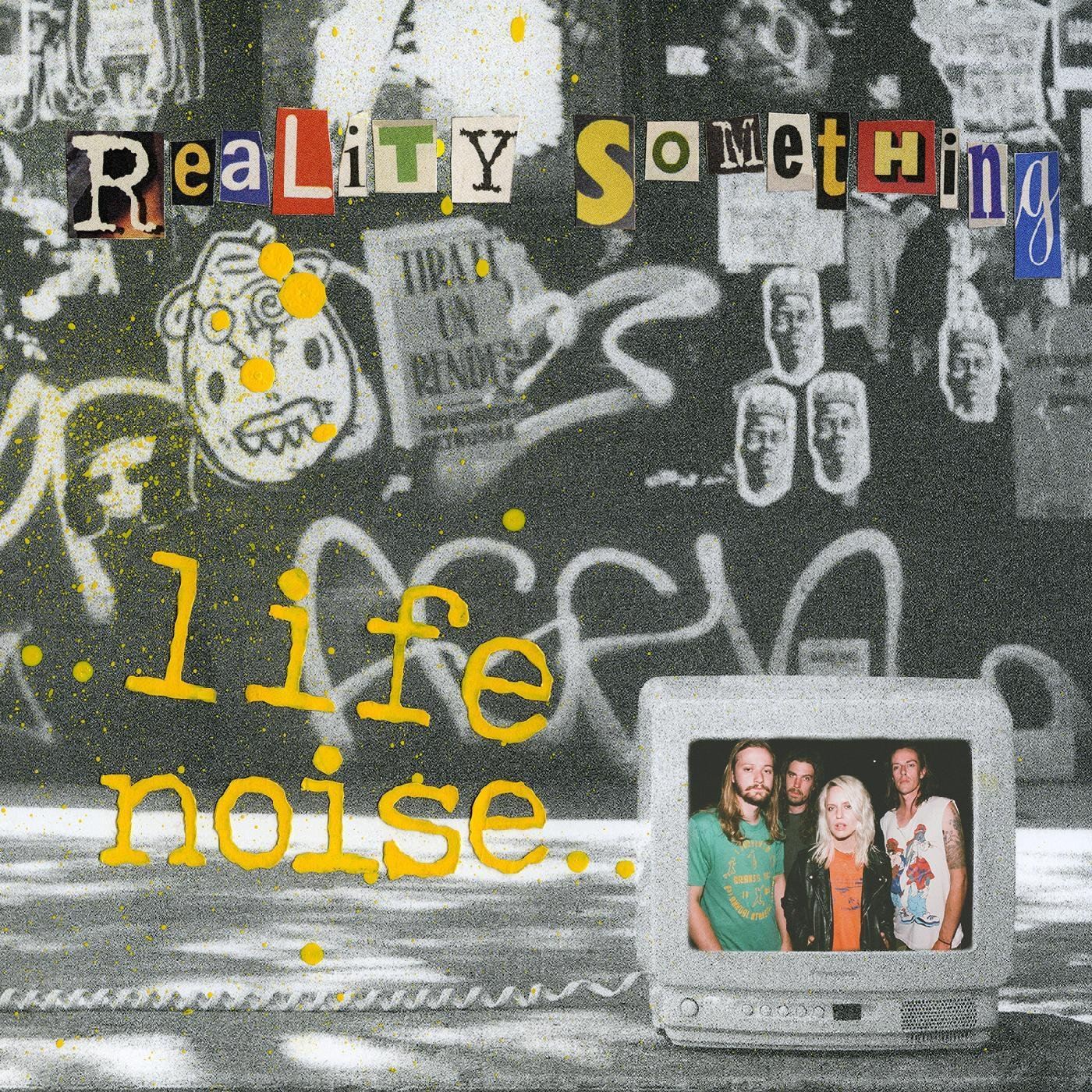 Cassette : Reality Something - Life Noise (Cassette)