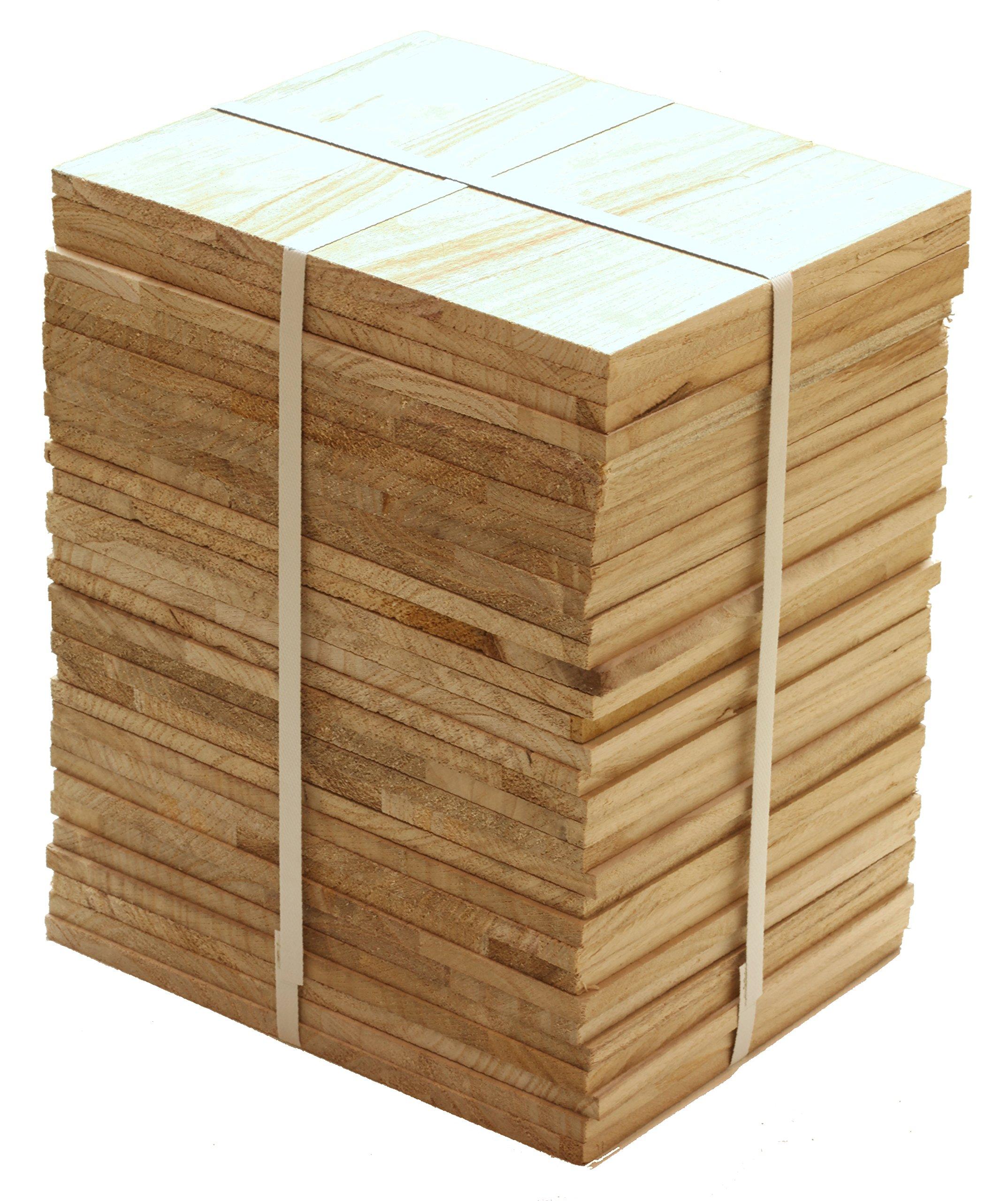 Tiger Claw Wood Breaking Board - Breakable Board in 12 mm Thickness (1/2 Case - 32 Board Pack)